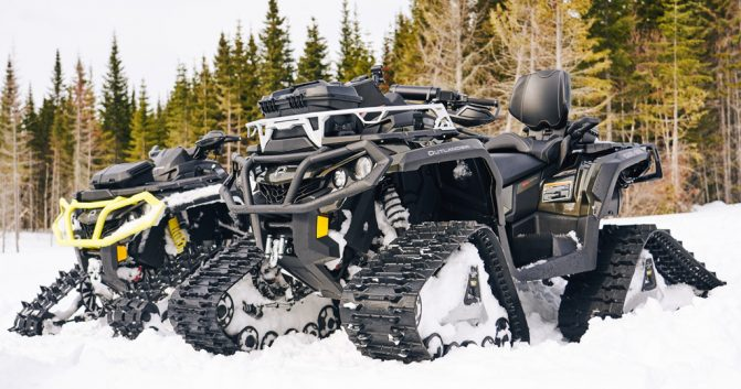 Can-Am Apache Backcountry Pair