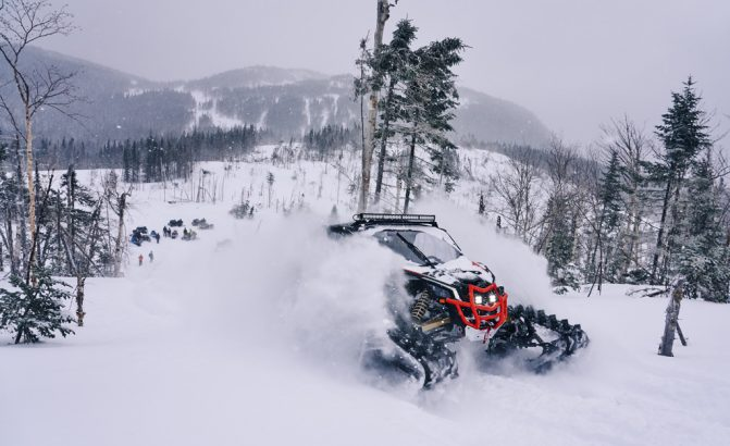 Can-Am Apache Backcountry View