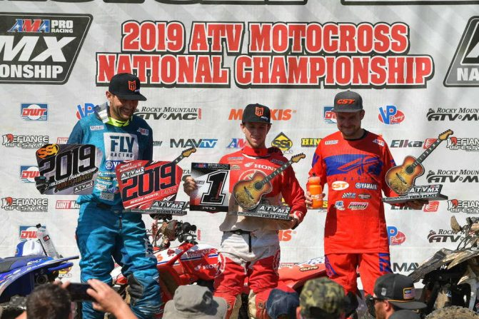 Muddy Creek ATVMX Podium