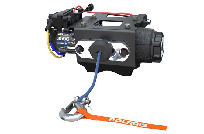 Polaris Ranger Winch