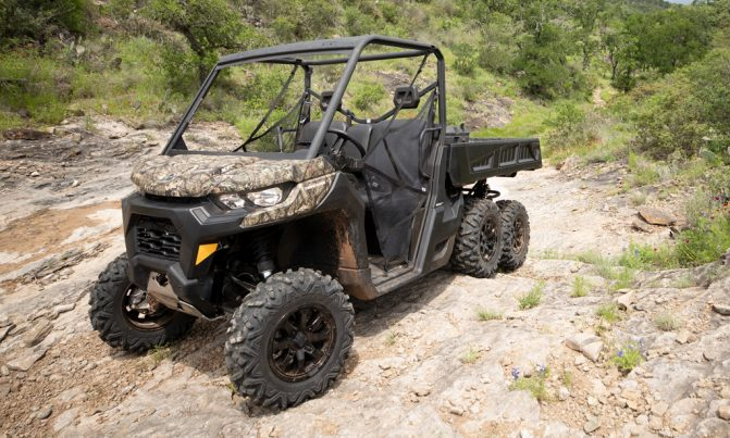 2020 Can-Am Defender 6x6 3