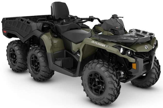 Can-Am Outlander MAX 6x6 DPS - Two-Seat ATV