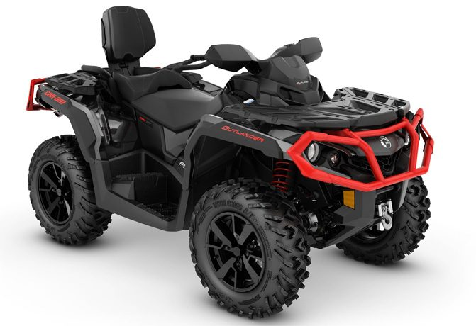 Can-Am Outlander MAX XT - Two-Seat ATV