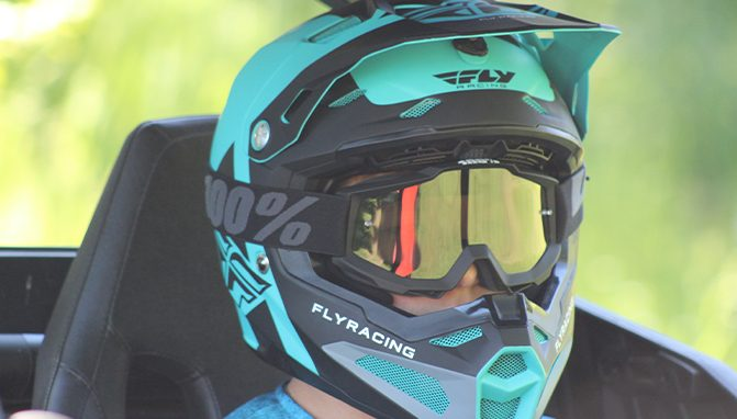 26b8c58f Dust, Mud and the Fly Racing Formula Carbon Fiber Helmet - ATV.com