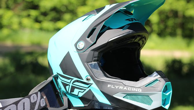 Fly Racing Formula Carbon Fiber Helmet Beauty