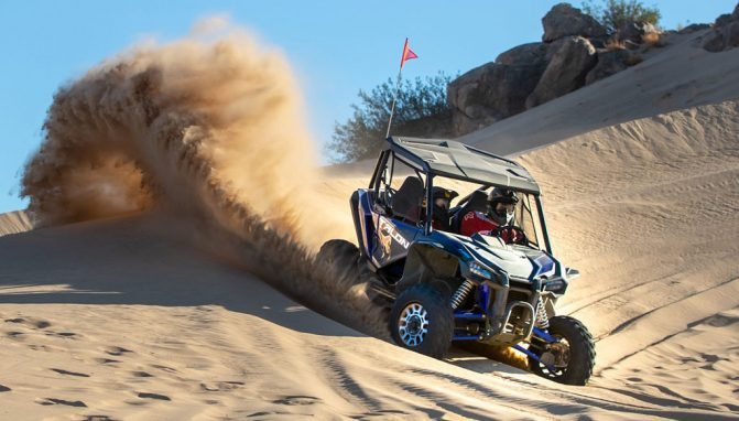 Want To Drive the New Honda Talon SXS in California? Now's Your Chance!