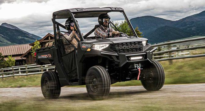 2020 Polaris Ranger 1000 Action