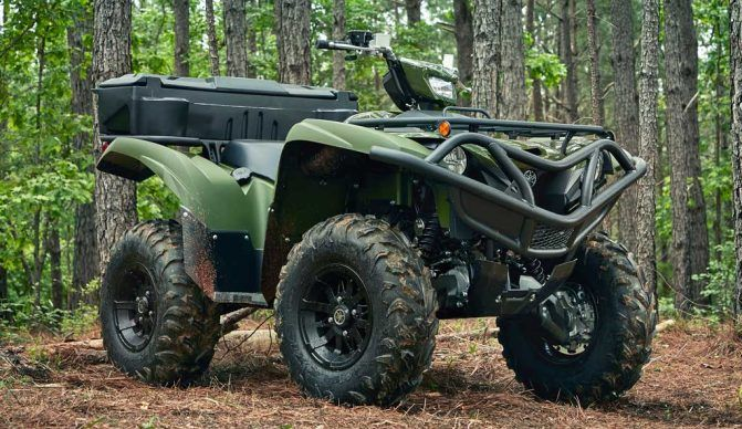 2020 Yamaha Grizzly EPS Beauty