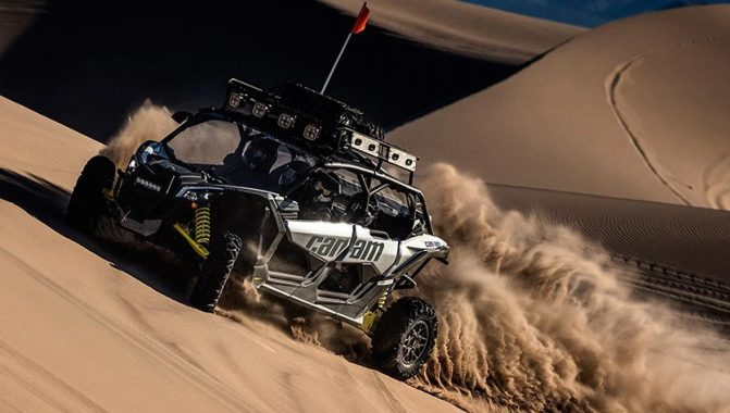 Can-Am Maverick X3 MAX Turbo Action