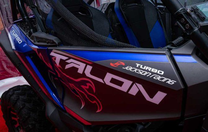 Honda Talon Turbo Badge