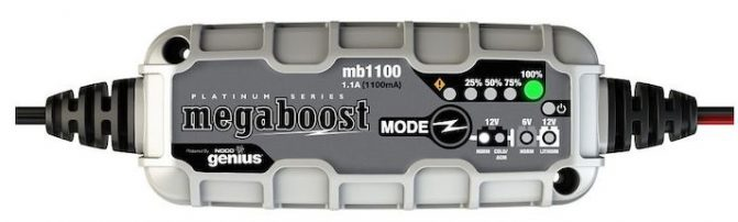 Megaboost Battery Maintainer MB1100 Lithium