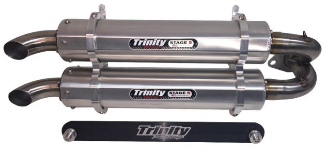 Trinity Racing Stage 5 Dual Exhaust System