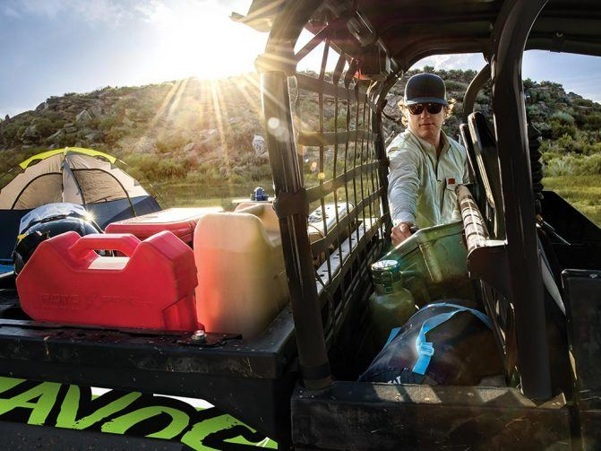 2020 Arctic Cat Havoc Storage