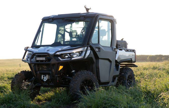 2020 Can-Am Defender Limited Beauty