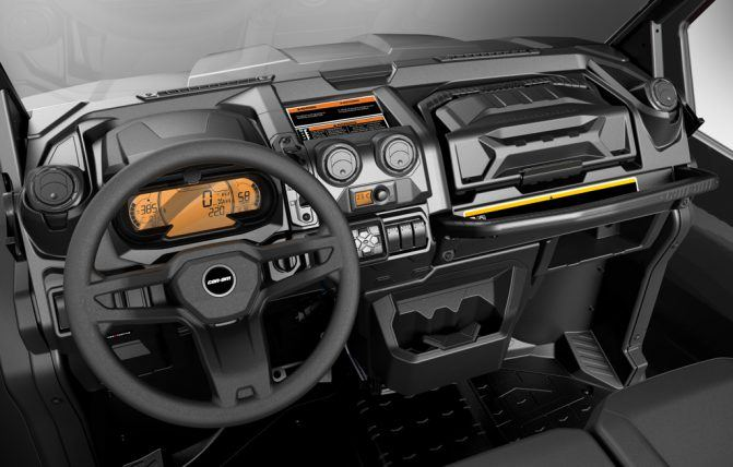 2020 Can-Am Defender Limited Interior