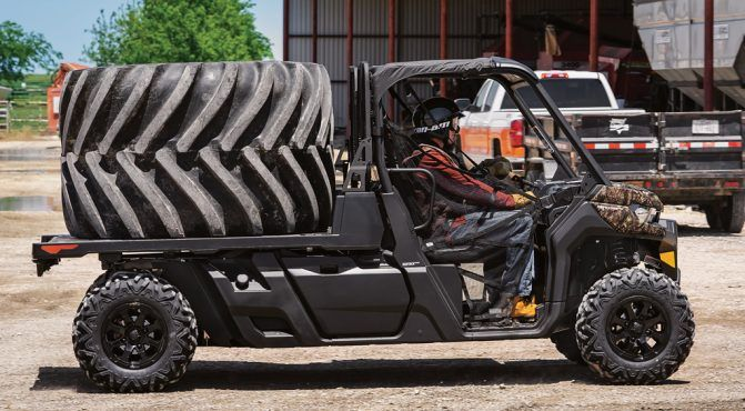 2020 Can-Am Defender PRO XT Flat Bed