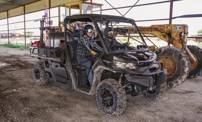 2020 Can-Am Defender PRO XT Working