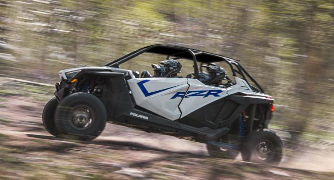 2020 Polaris RZR Pro XP 4 Ultimate White 1
