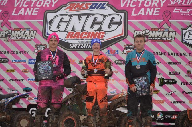 Ironman GNCC Youth Podium
