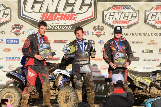 Yamaha Mountaineer GNCC XC2 Podium