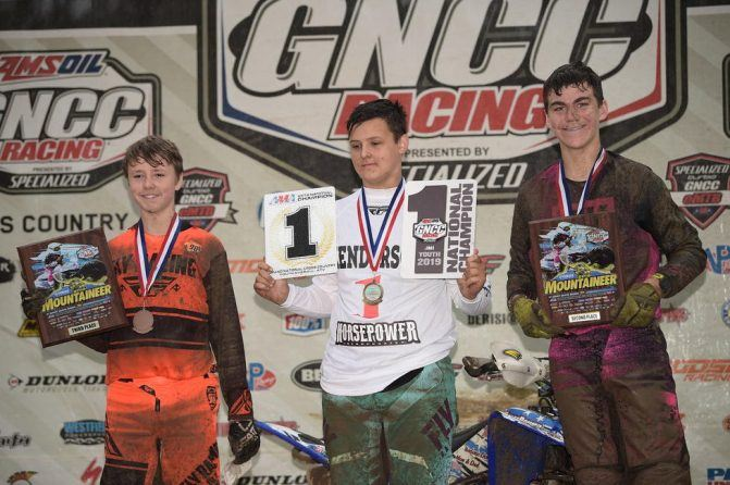Yamaha Mountaineer GNCC Youth Podium