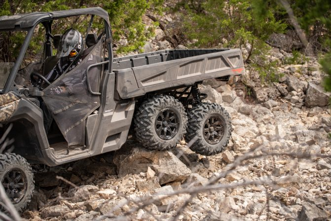 2020 Can-Am Defender 6x6 Articulating Wheels