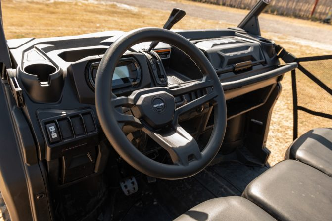2020 Can-Am Defender 6x6 Cockpit