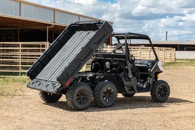 2020 Can-Am Defender 6x6 Cargo Bed