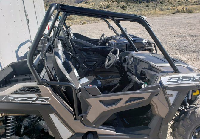 2020 Can-Am Trail 1000 and Polaris RZR 900 Angles