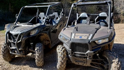 2020 Can-Am Maverick Trail 1000 DPS vs. Polaris RZR 900 Premium