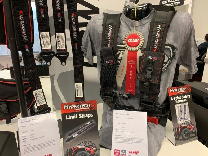 Hypertech 4-point Harness Seatbelt – Runner Up for New Product of the Year: SEMA 2019