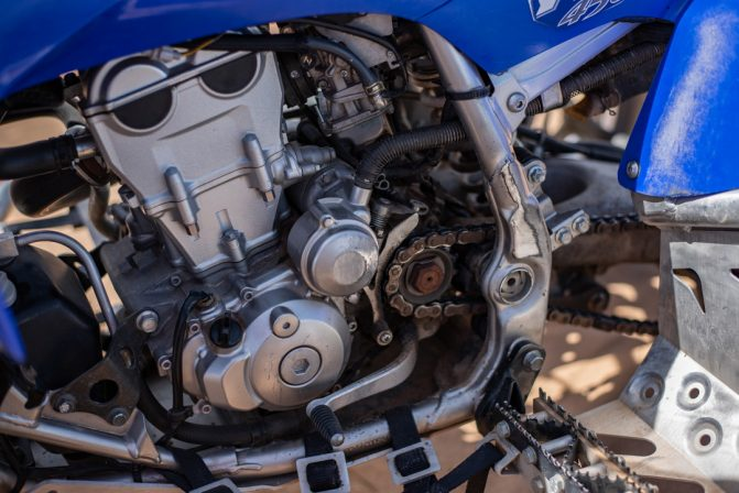 2006 Yamaha YFZ450 Engine