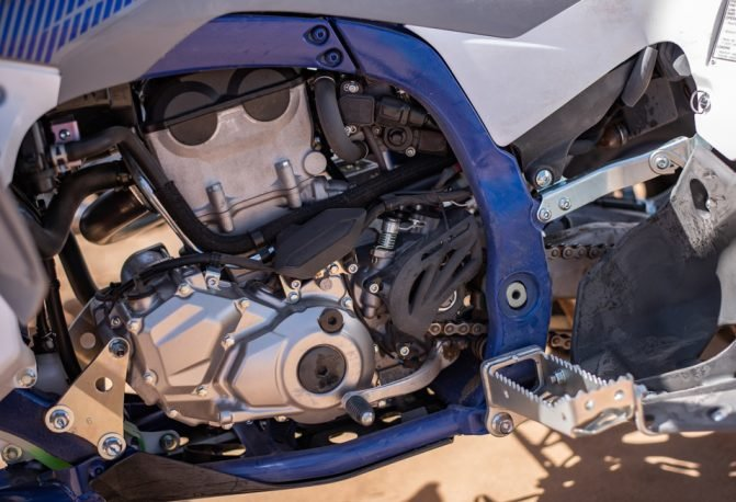 2019 Yamaha YFZ450R Engine