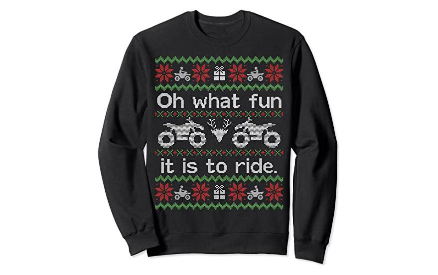 ATV Ugly Sweater