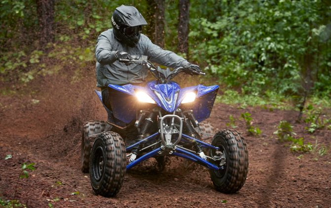 2020 Yamaha YFZ450R Action
