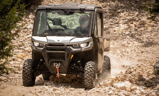 2020 Can-Am Defender Limited Action 3