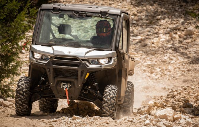 2020 Can-Am Defender Limited Action 4
