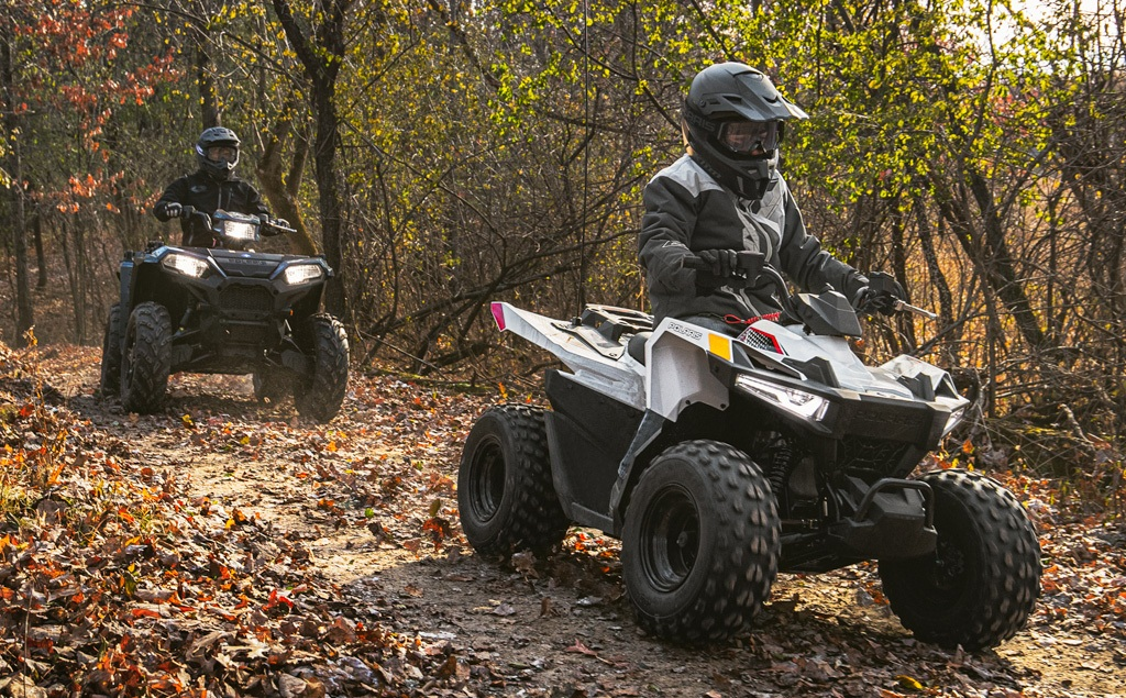 2020 Polaris Outlaw 70 Ride