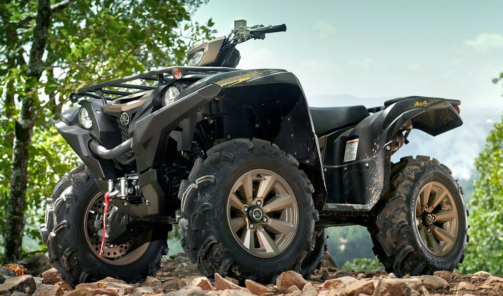 Yamaha Grizzly XT-R Bug Out Vehicle