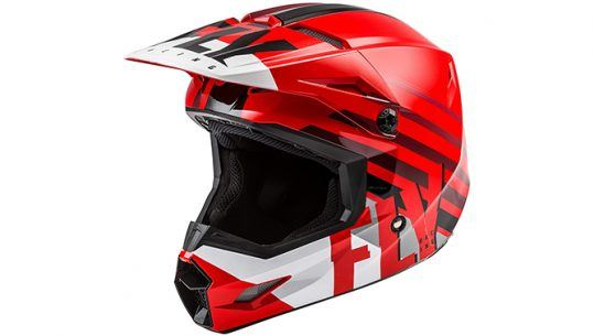 fly kinetic youth ATV helmet