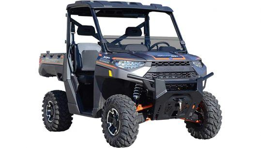 Best Polaris Ranger Windshield SuperATV half windshield