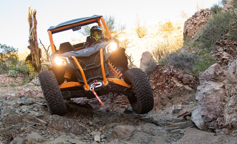 2020 Can-Am Maverick Sport X RC Rocks 5