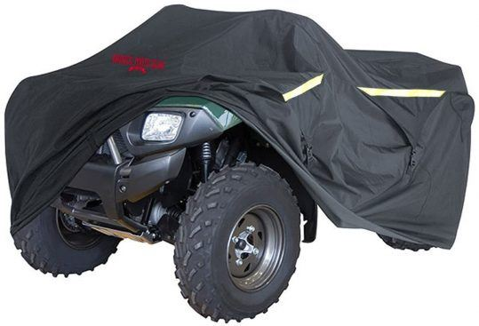 For ATV riders willing to spend a little extra, the Badass Moto Gear ATV Cover is a durable, reliable option for storing and trailering.
