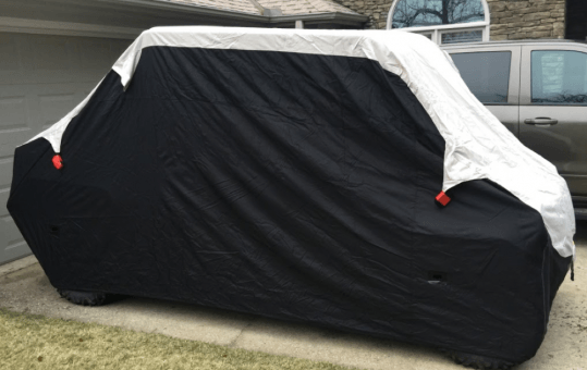 Offering maximum weather protection makes CarCovers.com Weatherproof MAX Shield UTV Cover one of the best UTV covers around.