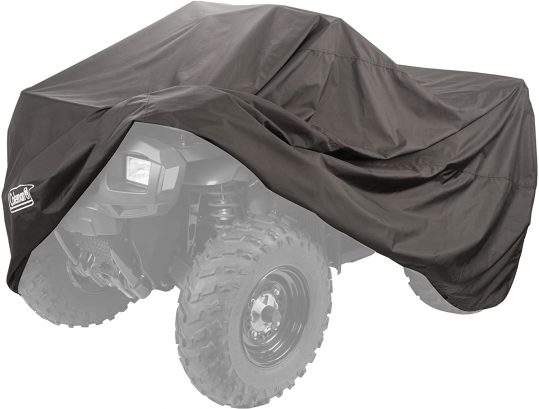 Looking for the #1 ATV cover? This Coleman MadDog Cover tops our list of the best ATV covers.