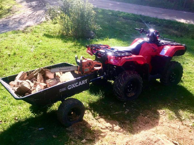 OxCart Tow-Behind Dump Cart Review