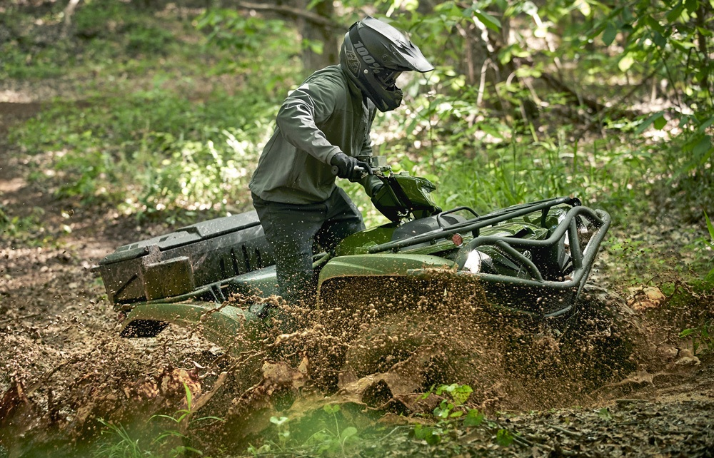 ATV Maintenance Mud