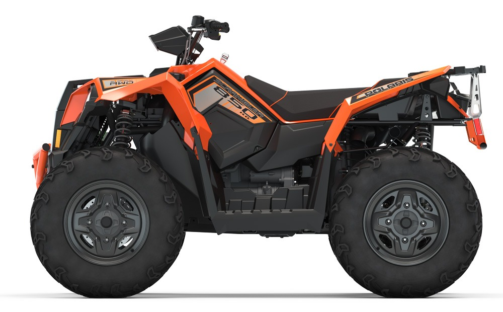 2020 Polaris Scrambler 850 Profile
