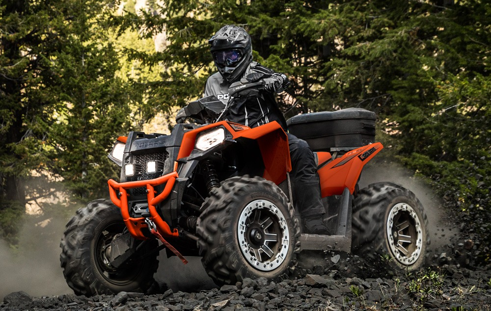 2020 Polaris Scrambler 850 Action