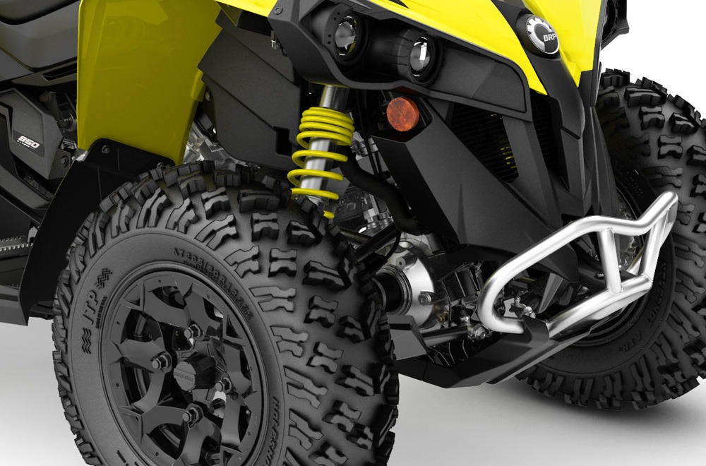 Can-Am Renegade 850 Front Suspension